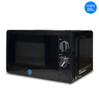 110V Microwave Oven 20L Marine Turntable Commercial / Household 60HZ Microwave Oven High Power Adjustable
