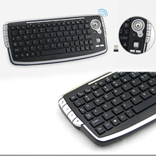 Keyboard Ce with 1000DPI Trackball Optical-Mouse Portable Compact Office Meeting