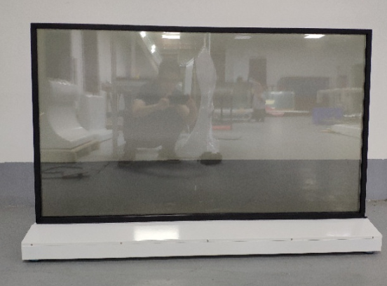 Customize 55'' Inch  Transparent OLED Display Advertising Video Digital Signage