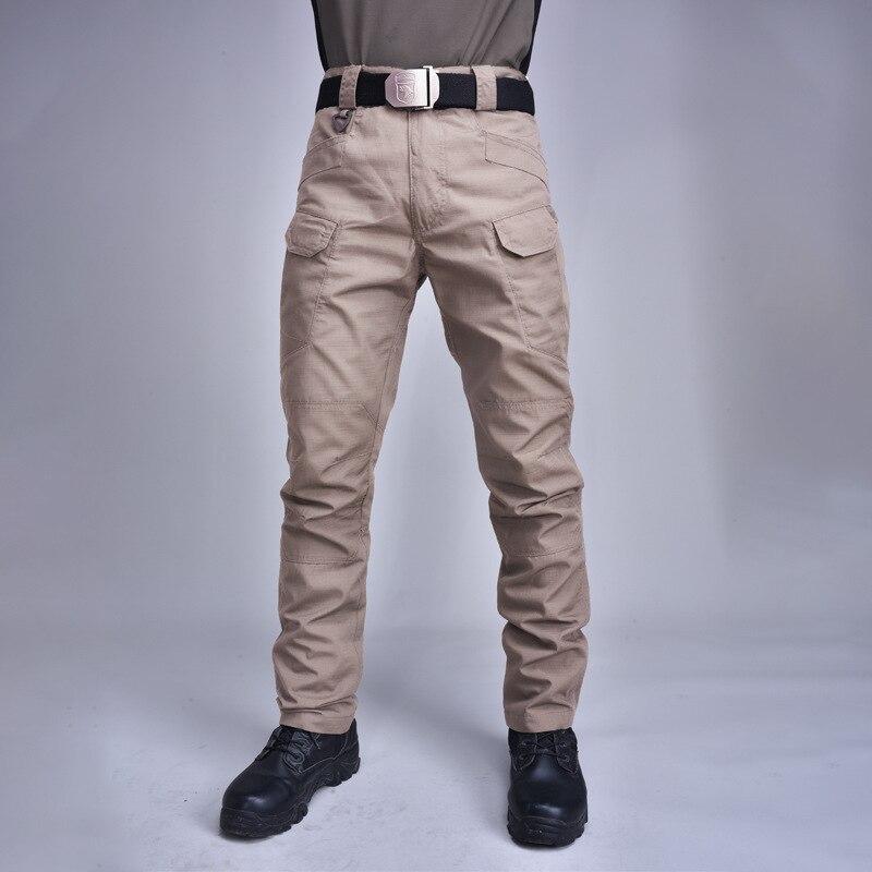 Тактические Брюки камуфляжные брюки хлопковые комбинезоны Осенние уличные брюки с несколькими карманами износостойкие XA100