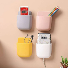 1pcs Air Conditioner Remote Control Holder Case Wall Mount Storage Box Organiser Tool