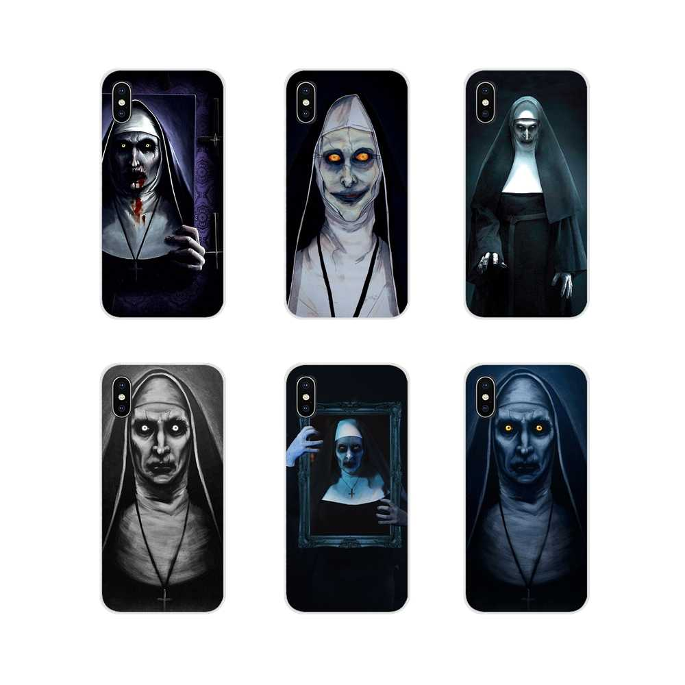 Horror Rosto Valak Conjuring 2 Para Apple iPhone X XR XS 11Pro MAX 4S 5S 5C SE 7 6S 8 Plus ipod touch 5 6 Móvel Phone Cases Capa