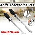 Профессиональная точилка для ножей шеф-повара  10/12 дюйма  алмазная заточка  хонинговая сталь для кухонных ножей и ножей из нержавеющей стали