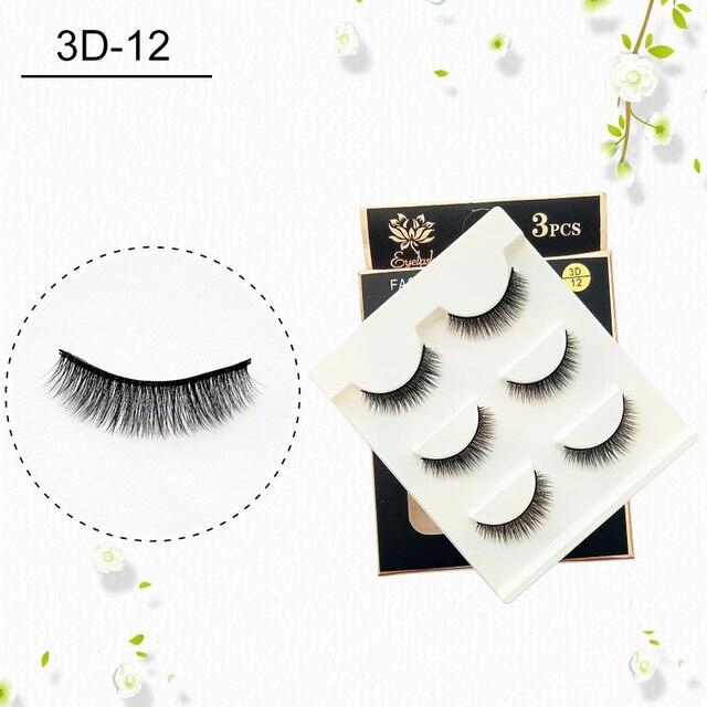 Big Eye Makeup Cross Volumn False Eyelashes Soft Natural False Eyelashes 3D Mink Thick Lashes Handmade Eyemakeup Extension Tools
