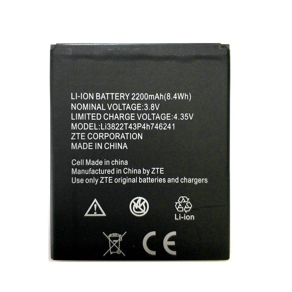 2019 New 2200mAh Li3822T43P4h746241 Battery For ZTE Blade L4 Pro / TWM Amazing X3s A465 Battery