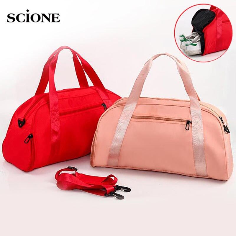 Women Gym Bag Dry Wet Sports Bags Fitness Handbag For Shoes Outdoor Shoulder Gymtas Tas Sac De Sport Training 2020 Yoga XA97A