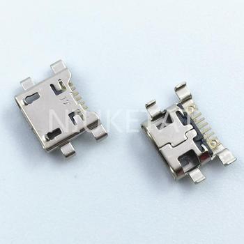 10 шт., разъем Micro USB 7Pin Jack, разъем для зарядки и передачи данных, задний разъем для LG G4 F500 H815 V10 K10 K420 K428 Mini USB