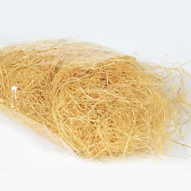 Nesting Raffia Grass - Eco-Friendly Lightweight - Finches & Canaries Love It! - 30g pack 5