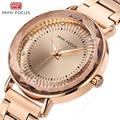 Minifocus moda relógios de ouro mulheres relógios de quartzo senhoras marca superior luxo feminino relógio de pulso menina relogio feminino