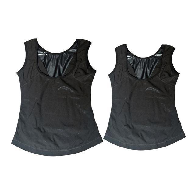Men Neoprene Sweat Sauna Vest Body Shapers Vest Waist Trainer Slimming Vest Shapewear Waist Shaper Corset for women 6