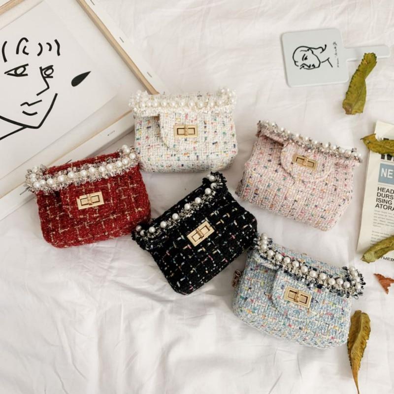 Fashion Cute Girl Shoulder Messenger Bag Children's Crossbody Chain Handbag Toddler Girl Bags