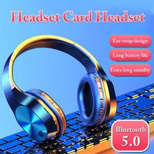 Wireless Headphones Bluetooth Headset Foldable Earphone Deep Bass Headphones Handfree