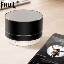 цена на Portable Mini bluetooth Speakers mp3 stereo music player Hands Cool lights Speaker TF USB FM Card Music Playing For Mobile Phone