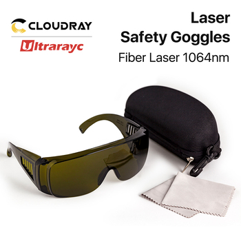 Ultrarayc 1064nm Protective Goggles Style B Laser Size Safety Goggles 850-1300nm OD4+ CE For Fiber Laser Machine 635nm 808nm laser protective goggles laser safety glasses ce certified