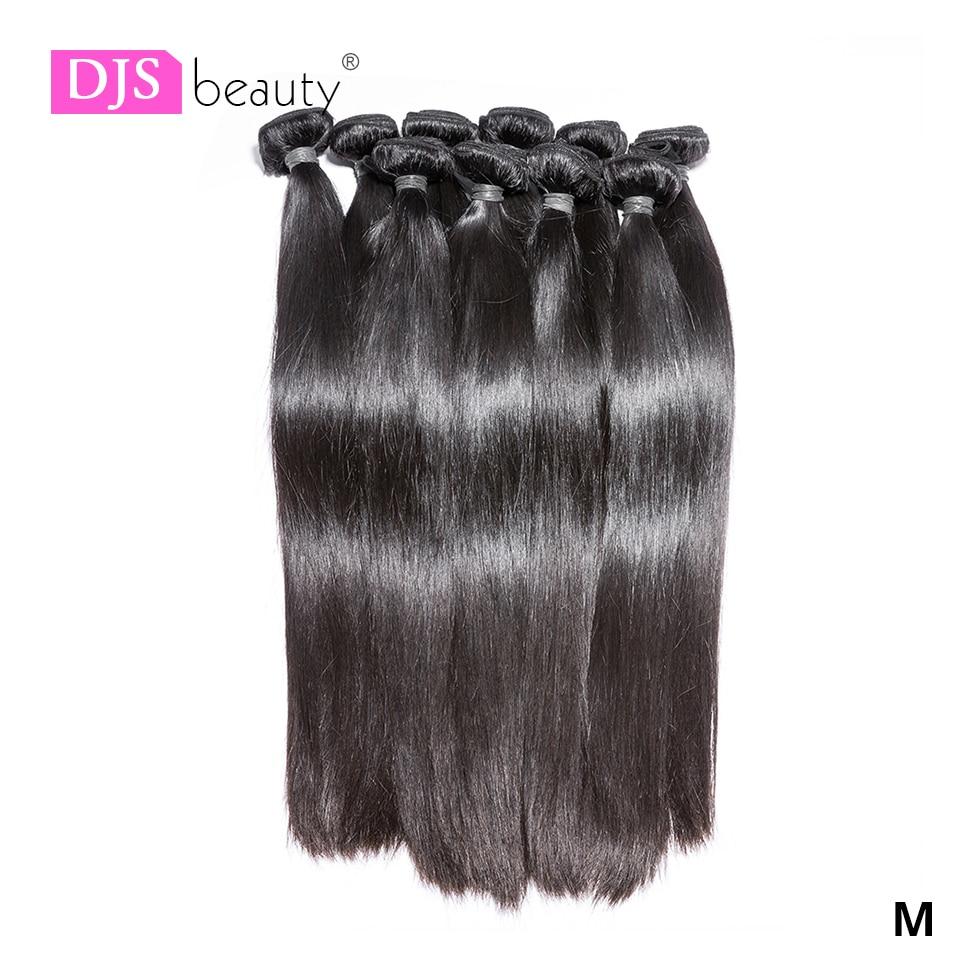 Wholesale  Straight Hair Bundles Long  Bundles 30 32 24 36 38inch   Bundles Natural Color 1