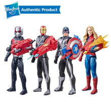 Hasbro Marvel Avengers 12 Inch Endgame Titan Hero Power FX Captain America Iron Man Ant Man Captain Marvel Child Toy Gift цена 2017