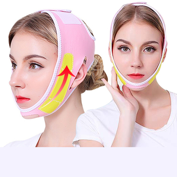 efero firming v face mask double v face hanging ear face paste hydrogel mask lifting firming thin masseter band double chin mask Lifting face mask double chin masseter law wrinkle face artifact beauty small V face instrument bandage