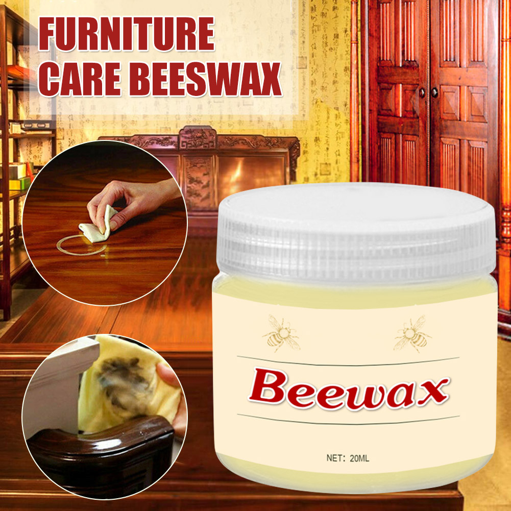 Wood Seasoning Beewax Complete Solution Furniture Care Beeswax Moisture Resistant 20g L9 #2