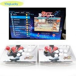 Бесплатная доставка Pandora saga box 2323 в 1 105 шт 3D игры джойстик светильник кнопки PCB контроллер Ретро аркадная консоль