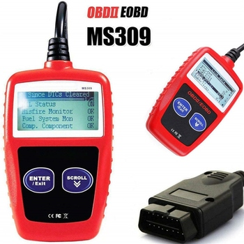 Car Fault Code Reader Multi-languages Automotive Scanner Engine Diagnostic Scanner Reset Tool MS309 OBD2 OBDII UK Auto Scan Tool x1 read clear fault code reader scan tool obdii obd read dtc obd2 car diagnostic auto tool diagnostic scanner for car