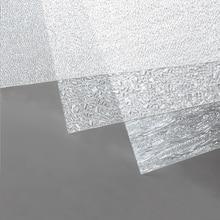 1pcs 3 types transparent model river flowering pattern sheet miniature bendable decorated PVC pad for diorama lakes scene making
