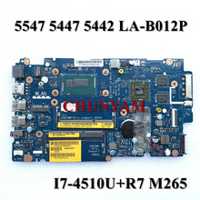 Mainboard LA-B012P Dell Inspiron for 5547/5447 5442 Zavc0/La-b012p/Cn-05md4v/.. I7-4510U