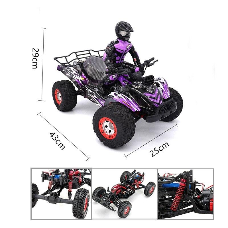 KW C04 радиоуправляемые машины 1/12 4WD 2,4G 4CH гоночный автомобиль Высокая скорость пересечение автомобиль внедорожный гонщик 4 колеса автомобиля игрушки - 4