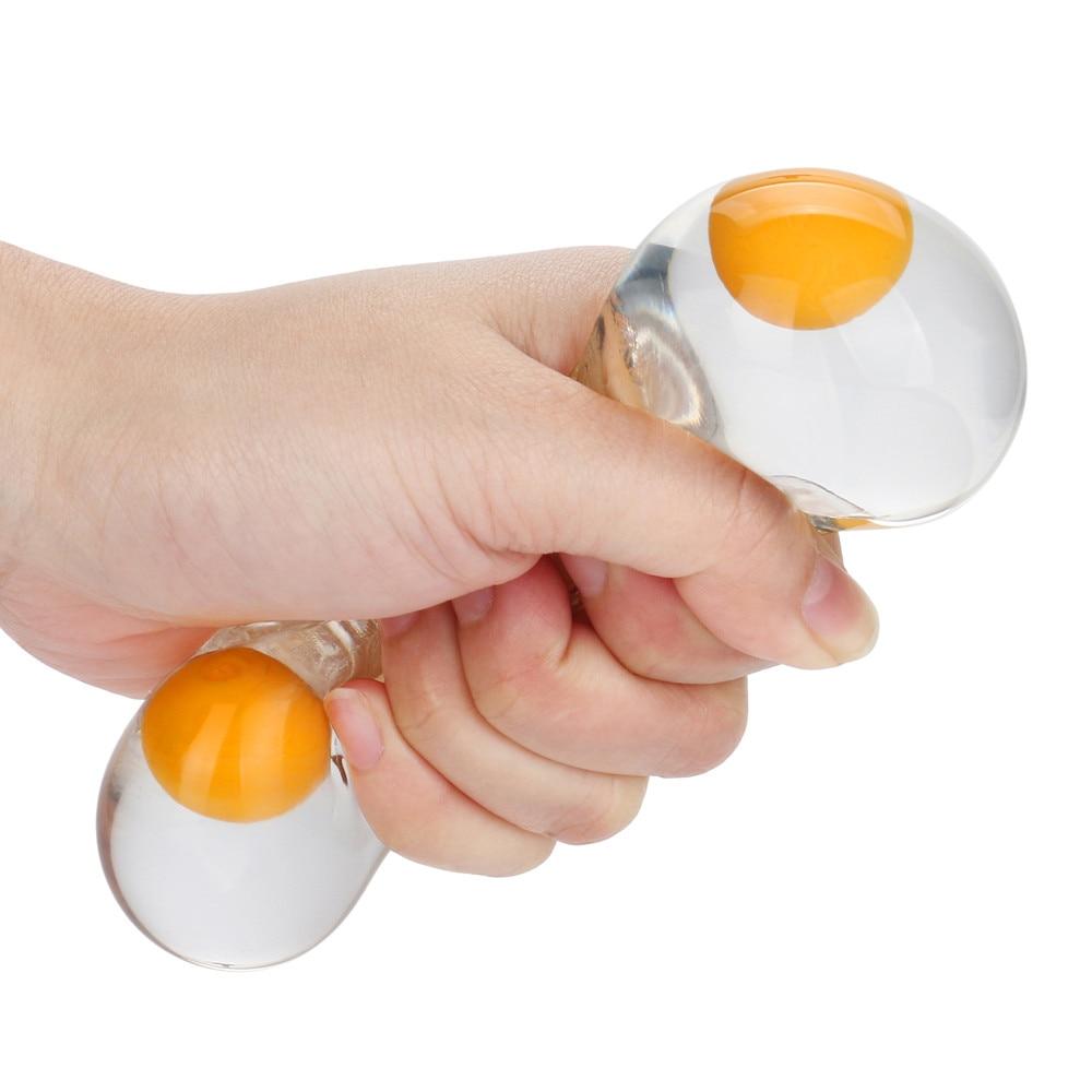 Squishy Toys Balls Egg-Splat-Ball Fidget Stress-Relief-Eggs-Yolk Fun Funky img2