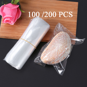 100/200pcs POF Heat Shrink Wrap Bag Waterproof Laminating Film Transparent Heat-Shrinkable Bag For Soaps Bath Bombs DIY Crafts(China)