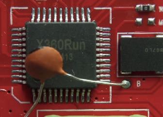 10pcs/lots PCB For Xbox 360 V1.0 Yellow Run PCB