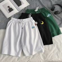 New Men's Casual Sweat Shorts Jogger Harem Short Trousers Slacks Wear Drawstring Trunks For Runners Brand Clothing Summer Wear