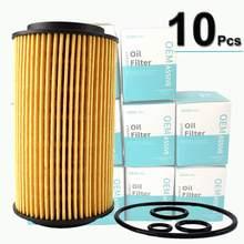 10 adet yağ filtreleri 6111800009 mercedes-benz için W202 W204 S202 S204 W210 S210 S211 W463 W639 Sprinter 3-t kutusu/otobüs (903, 906)