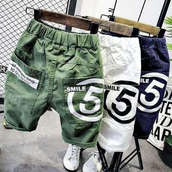 Boys Casual Geometric-Pattern Shorts