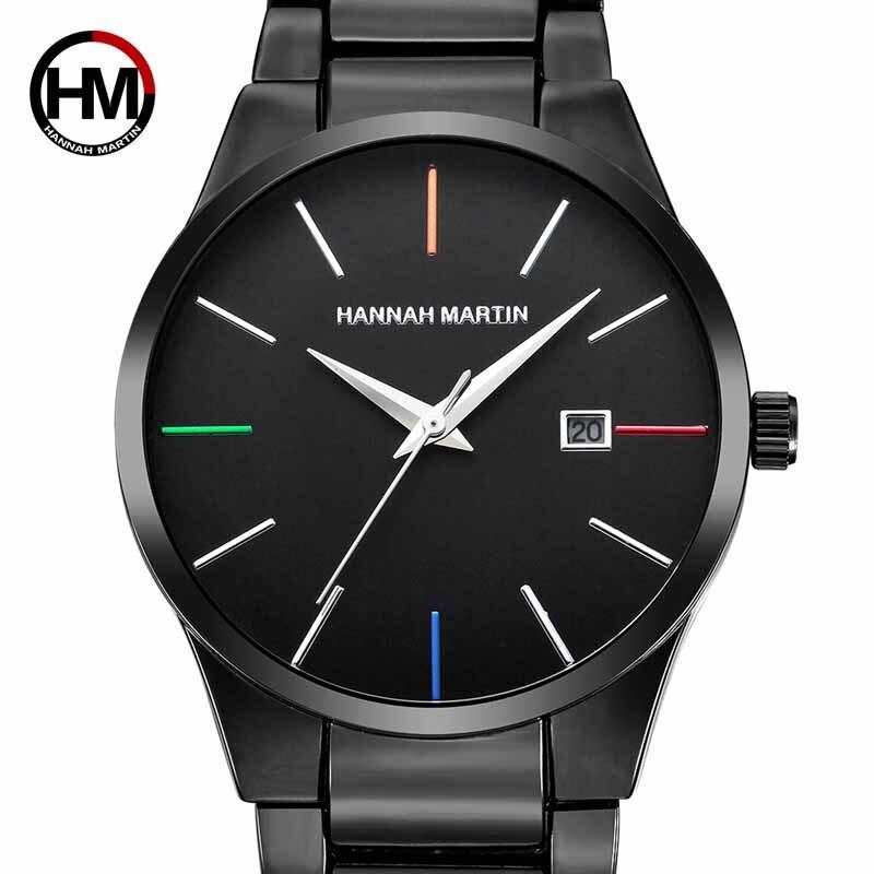 Купить мужские часы hannah martin топ бренд роскошные деловые для мальчиков