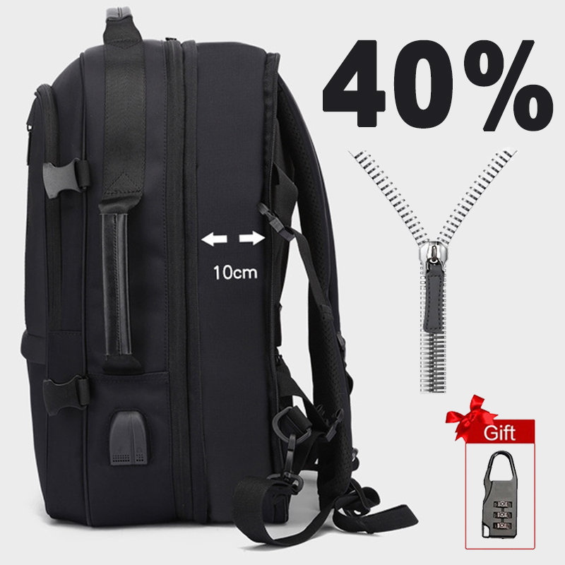 Anti Theft Laptop Backpack Men 17 Inch Backpacks Women Male 15.6 Notebook Back Pack Large Bag USB Charging Waterproof Bagpack