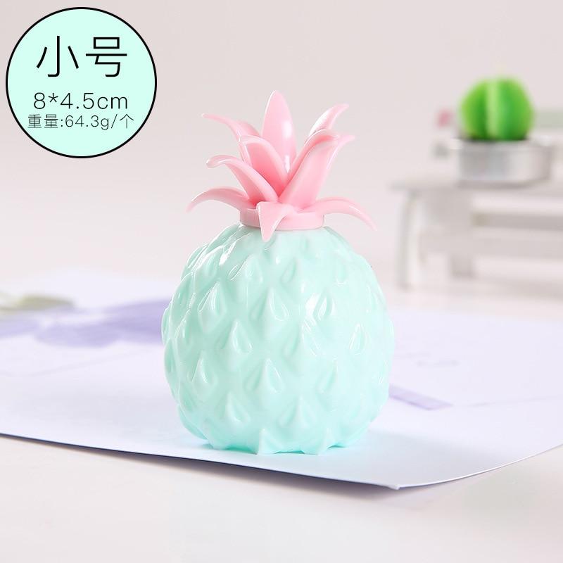 Toy Fidget Ball-Stress Pineapple Pop It Sensory Fun Reliever Creativity Children Soft img4