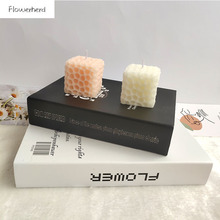 Candle Mold Soap-Form Candle-Making-Supplies Honeycomb Silicone Cake-Decorations Square