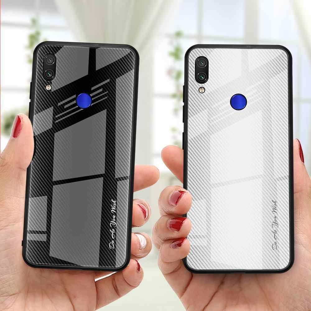 Tempered Glass Case For ASUS Zenfone Max Pro M1 ZB601KL ZB602KL M2 ZB631KL ZB633KL Texture Gradient Cover Case Capas Coque Funda