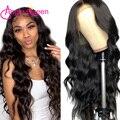 Волнистый парик для волос 4X4, парик для волос, натуральные волосы, волнистые волосы, бразильские предварительно выщипывающиеся человечески...