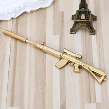 Новинка гелевая ручка пистолет шариковая ручка в форме цветка ручки офисные школьные канцелярские принадлежности подарок L41E