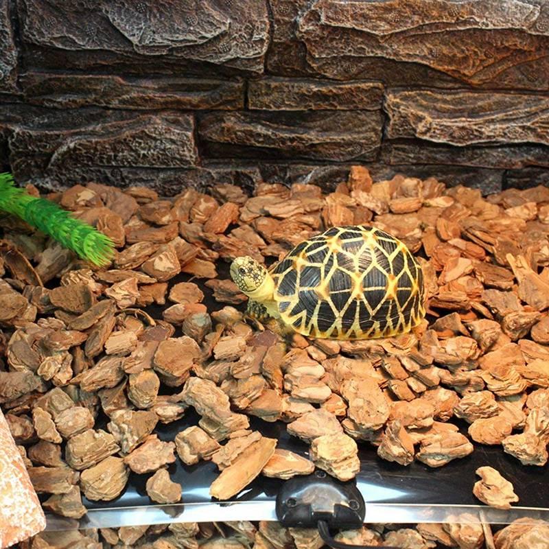 Рептилий термомат 5-20 Вт настраиваемый регулятор температуры для террариума нагревательный коврик рептилия аксессуары для черепахи, змеи