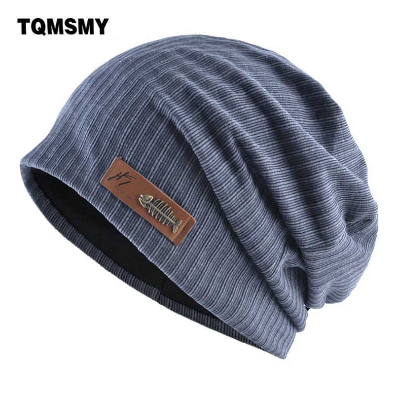 TQMSMY Streetwear Hats With Leather Logo Solid Color Knitted Beanies Men Women Soft Skullies Bonnet Fashion Hip Hop Hats TMB33