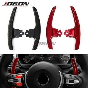 Carbon Fiber Steering Wheel Shifter Paddle Extension For BMW F20 F22 F30 F32 F10 F12 F01 F15 F16 F48 F26 M3 F80 M4 F82 M5 M6 X5M(China)