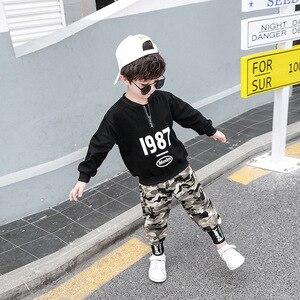 Image 3 - 3 4 5 6 7 8 9 10 11 12 ปีชายเสื้อผ้าเสื้อกางเกงเสื้อผ้าเด็กชุดเด็กฝ้ายชุดลำลองเด็กชุดสำหรับ Boy