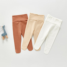 Pants Baby Clothing High-Waist Cotton New Brand Yg Candy-Color Children's Simple