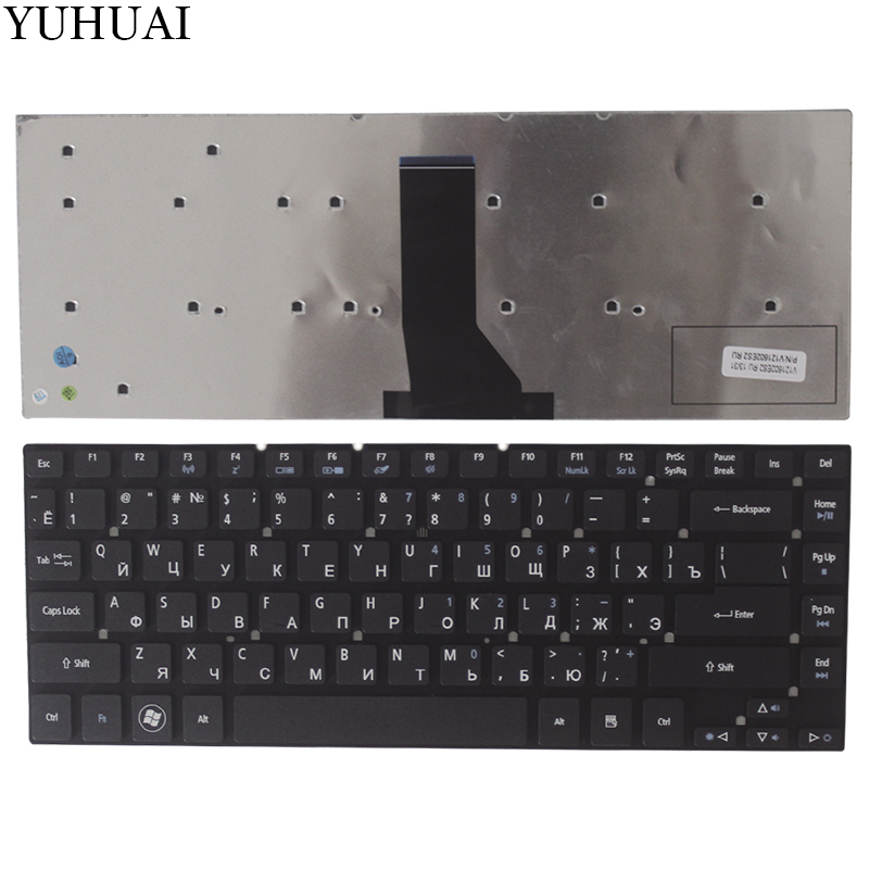 Russian Laptop Keyboard for <font><b>Acer</b></font> <font><b>Aspire</b></font> 3830 3830G 3830T <font><b>3830TG</b></font> 4830 4830G 4830T 4830TG V3-471 4755 4755g E1-410 series RU image