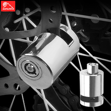 Motorcycle Bike Disc Lock For M365 Electric Scooter Anti theft Steel Bicycle Lock MTB Road Mountain Bike Accessories Brake Lock disc brake lock anti theft for xiaomi mijia m365 bicycle electric scooter disc brake wheels lock kickscooter