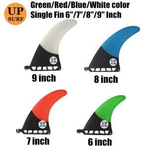 "Image 1 - 9 inch firberglass carbon single fin 6""7""8"" surfboard sup fin longboard fin 8"