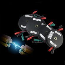 Draht Reel Tragbare Praktische Test Blei Zubehör Auto Reparatur Langlebig Drei Spannfutter Versenkbare Verbindung Auto Multimeter Erweiterung