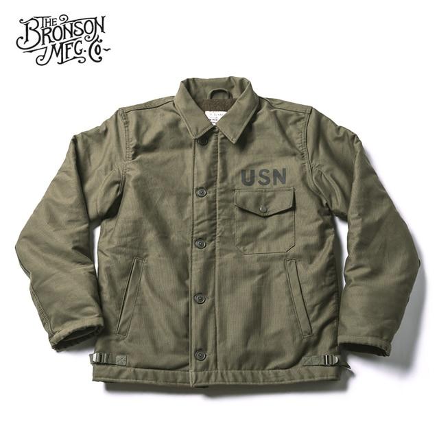 Куртка Bronson USN, винтажная куртка в стиле джунглей для холодной погоды, A 2